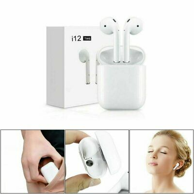I12 TWS Bluetooth 5.0 Earphone Wireless Earphones Smart Touch Control Earbuds BE