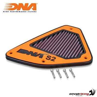 DNA Air Box Filter and Cover S2 for Aprilia Caponord 1200 13-17 P-AP12SM11-S2