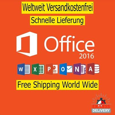 Microsoft Office 2016 Professional pro Plus Fast delivery