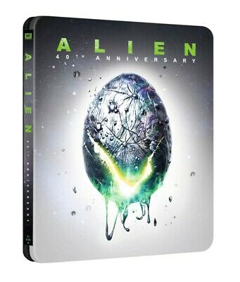 Alien 4K Ultra HD 40th Anniversary Steelbook & Blu-ray Fast And Free Delivery!!