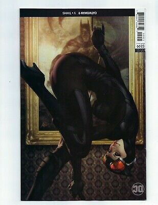 Catwoman # 9 Stanley Artgerm Lau Variant Cover NM DC