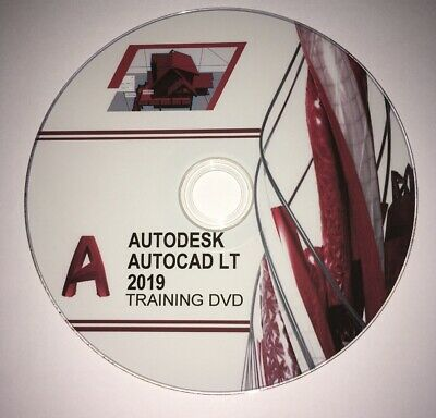 Autodesk Autocad LT 2019 professional video training tutorial DVD & exercise
