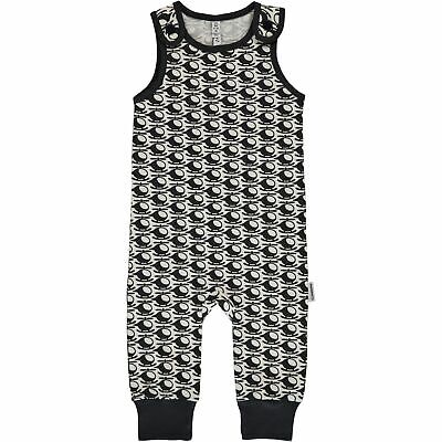 Maxomorra helicopter organic cotton dungarees | 6 9 12 18 24 74/80 86/92