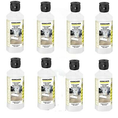 Eight Pack Of Karcher RM534 FC5 Sealed Wood Floor Cleaning Detergent 6.295-941.0
