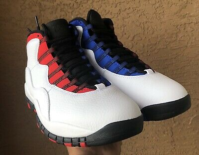 the best attitude 09875 8bf7a NIKE AIR JORDAN Retro 10 X Class of 2006 MVP White Red Blue 310805 160 Size  11