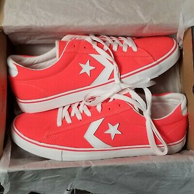 f0f83389dc3f CONVERSE CONS PRO OX FIERY CORAL (ORANGE) 141154C SIZE 10.5 MENS NEW ...
