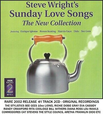 Best Greatest Love Songs 2CD - 10cc Stylistics Bee Gees Commodores Eva Cassidy
