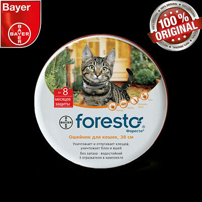 Bayer Seresto/foresto Flea & Tick Collar For Cats