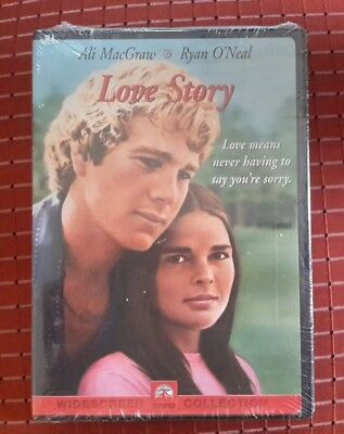NEW Love Story DVD Wide Screen Dolby Special Features Valentine Gift