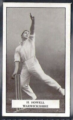 Gallaher-Famous Cricket Ers-#039- Warwickshire - Howell