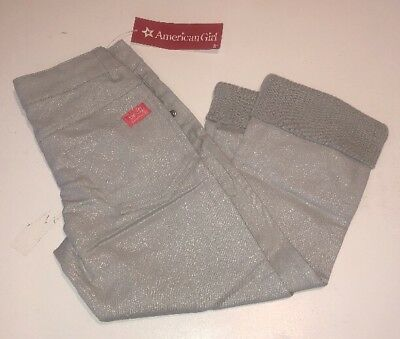 American Girl Isabelle/'s Meet Gray Pants size 7  gray capris