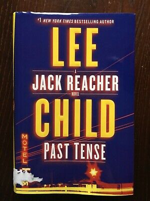 PAST TENSE: A Jack Reacher Novel by Lee Child (2018, Hardcover). Like new!