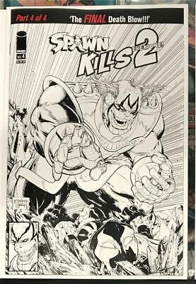 Spawn Kills Everyone Too #4 B&W Variant Image Comics 2019 1st Print Unread NM