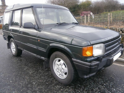 Land Rover Discovery 300 Tdi  1995  Great chassis Air con Long mot  Drives A1
