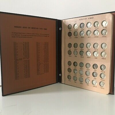Complete Mercury Dime Set 1916-1945 Includes 1916-D and 1945-S