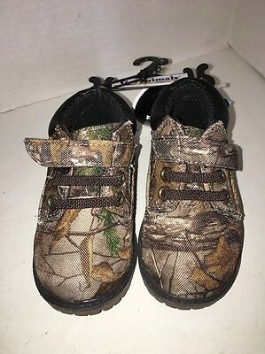 d102b70509aa9 Realtree Garanimals Infant Size 3 Boys Hiker Camouflage Boots Shoes NWT
