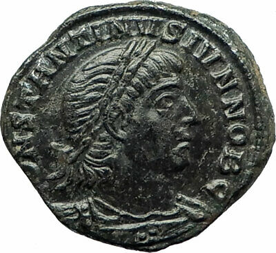 CONSTANTINE II Jr. Constantine I the Great son Ancient Roman Coin Legion i76533