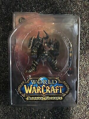 Mint DC UNLIMITED WORLD OF WARCRAFT SERIES 1 THARGAS ANVILMAR FIGURE MOC