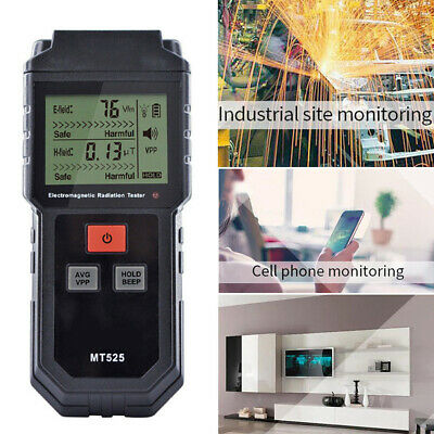 Meter Electromagnetic Radiation Tester Electric Field Double Measurement Data