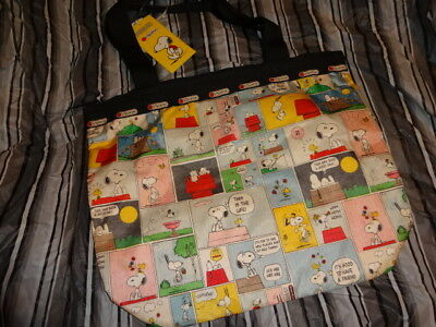 LeSportsac Basic Backpack PEANUTS SNOOPY PATCHWORK 7812 P687