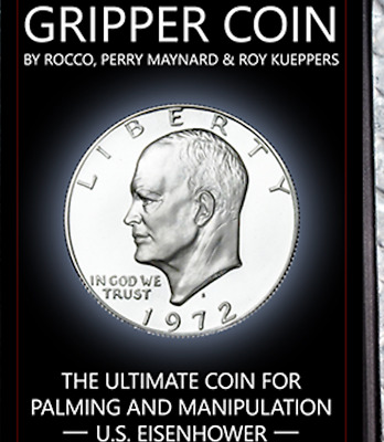 Gripper Coin (Single/ U.S. Esienhower) by Rocco Silano