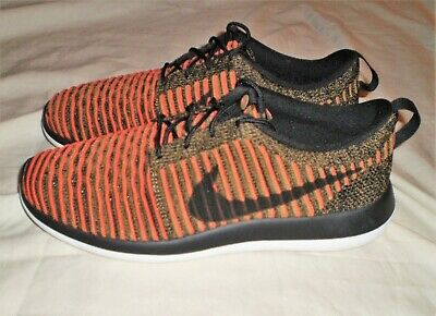 fc80c09826ab NIKE ROSHE TWO Flyknit Running Shoe Red Dark Team Red Size 10 ...