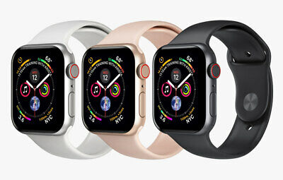 Apple Watch Series 4 - 44mm - 4G Cellular - Aluminum Case Smart Watch