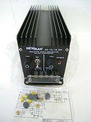 NEWMAR Power Isolated Spike Protected DC-DC Converter 36-12-18 ISP