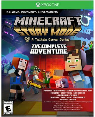 Minecraft: Story Mode The Complete Adventure - Xbox One Code