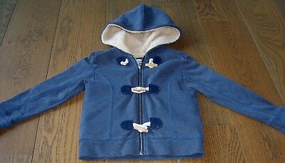 Country Road  Boys Cotton  Zip Front And Toggle Hoodie Jacket Sz 5