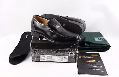 62bdc419ddd New Calden Mens US 10 Leather Elevator Height Dress Shoes Loafers Black Toto
