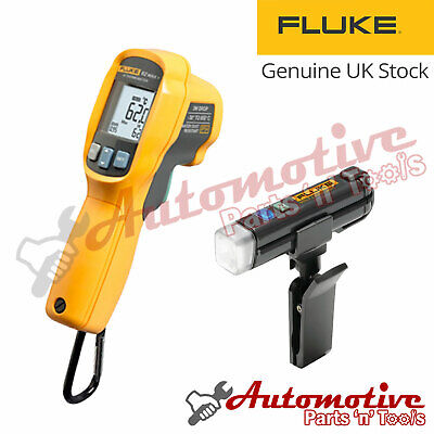 Fluke LVD1 & 62 MAX+ Plus IR Laser Infrared IP54 Thermal Heat Reader Dual Laser