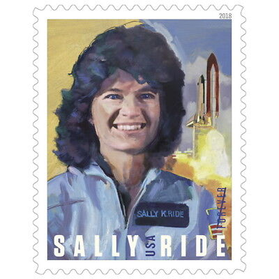 USPS New Sally Ride Pane of 20 stamps