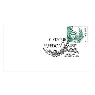 USPS New $1 Statue of Freedom First Day Cover