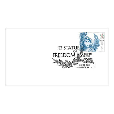 USPS New $2 Statue of Freedom First Day Cover