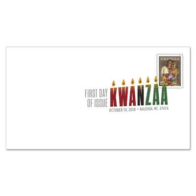 USPS New Kwanzaa  2018 Digital Color Postmark