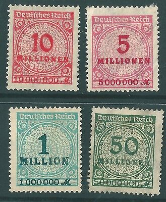 Genuine  1,5,10 & 50 Million Stamps. Your Chance To Be A Paper Millionaire