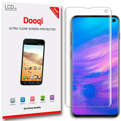 2X Dooqi Full Cover HD Clear Screen Protector Cover For Samsung Galaxy S10