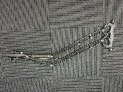 S.S WHITE DENTAL MFG Co Cast Iron Dentist Articulated Arm Patented 1876 1879