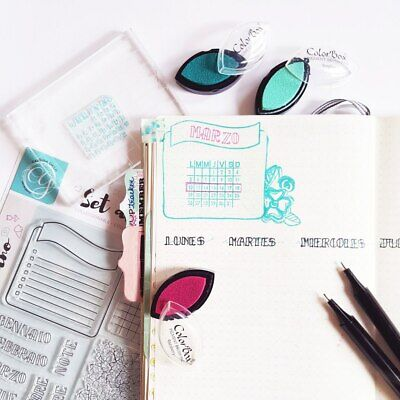 Ink Pad for Colorbox Pigment  Cats Eye - TEAL