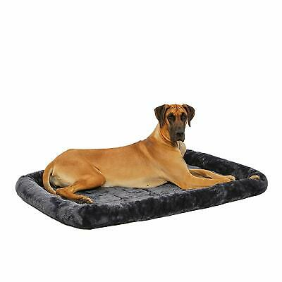 MidWest Deluxe Bolster Pet Bed for Dogs & Cats 42 inch