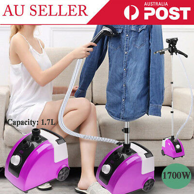 1700W Electric Clothes Iron Steamer Handheld Garment Fabric Wrinkle Remove Home