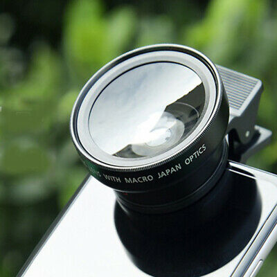 Clip-on Lens Cell Phone Lens Wide Macro fisheye Camera Telescope For Phone ZKY