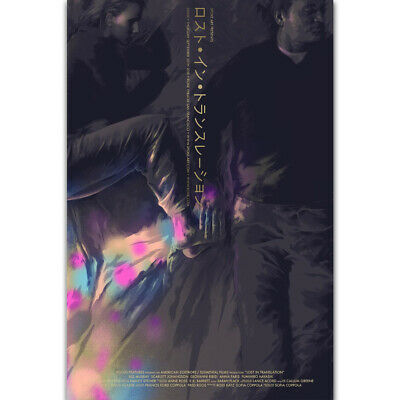 Z-1835 New Lost in Translation Movie Classic Japanese Silk Poster Art Decor