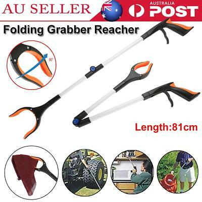 81CM Folding Grabber Pick Up Tool Reacher Extend Easy Assist Stick Trash Stick