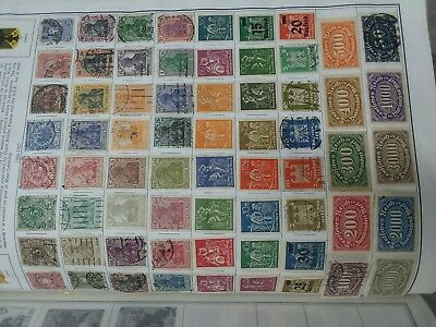 Germany 1889-1933 Stamp Collection