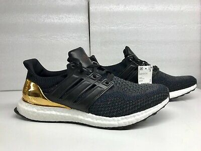 a2d0277f25a ADIDAS ULTRA BOOST LTD Olympic Medal Black Gold BB3929 Mens Size 11 ...