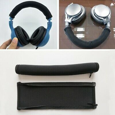 Replacement Headband Cushion Cover for ATH-MSR7 M50X M40X Headphone Black EW