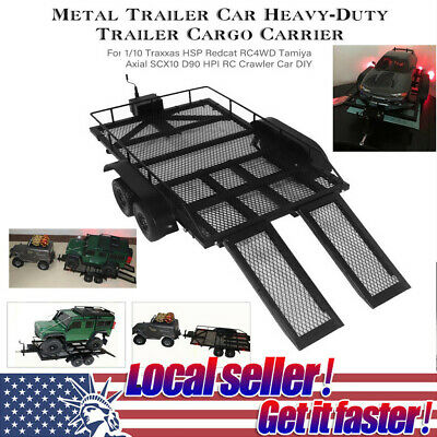 HOT Heavy-Duty Trailer Kit For 1/10 Traxxas HSP Axial SCX10 RC Crawler