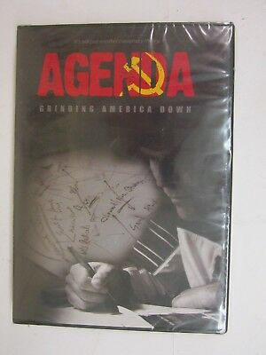 AGENDA : Grinding America Down Documentary (DVD, 2010) BRAND NEW  FACTORY SEALED